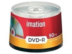 Pack 50 DVD-R Imation 4.7GB 16x tartera