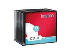 Pack 10 CD-R 700MB Imation 52x caja slim