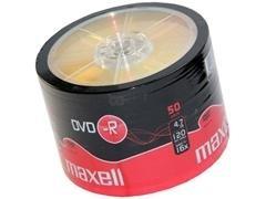 Tarrina 50 DVD-R 4,7Gb Maxell