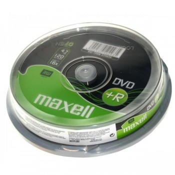Tartera 10 DVD+R Maxell 4,7gb