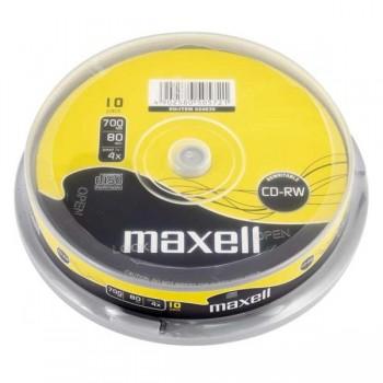 Pack 10 CD-RW Maxell 700mb