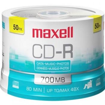 Tartera 50 CD-R Maxell 700mb