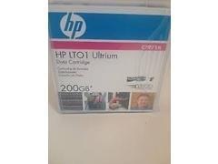Cartucho de datos HP Ultrium1 200gb