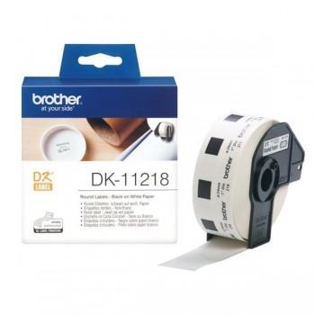 BROTHER Etiqueta circulares 24mm (1000etiquetas)