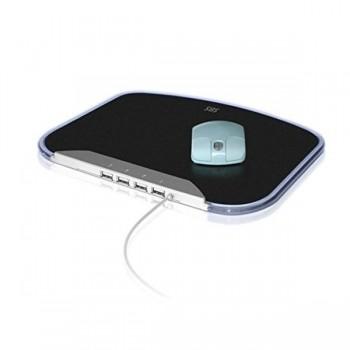Alfombrilla Ratón con hub USB 2,0 SBS pmp4010l 4 puertos