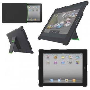 Carcasa con soporte para iPad/iPad 2 sin tapa color negro
