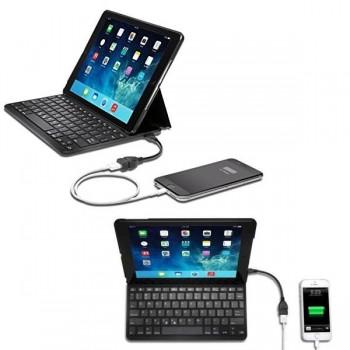 Funda Kensington key folio con teclado y batería incorporada para Ipad Air 2
