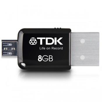Memoria Usb 2 en 1 mini express 3.0 flash drive 8GB para android TDK
