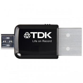 Memoria Usb 2 en 1 mini express 3.0 flash drive 32GB para android TDK