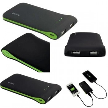 Cargador portátil Complete USB NEGRO
