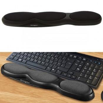 Reposamuñecas para teclado de espuma negro