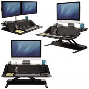 Estación de trabajo Sit Stand Lotus negro