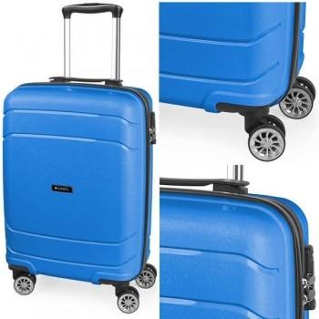 Gabol Maleta trolley rígida Shibuya 40x55x20 cm. 4 ruedas apta para cabina. Azul