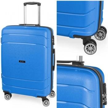 Gabol Maleta trolley rígida Shibuya 45x67x26 cm. 4 ruedas. Azul