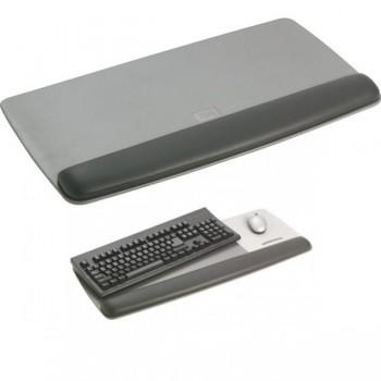 Reposamuñecas teclado prevención total gris oscuro