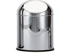 SIMEX Papelera c/ tapa mod. 40/P265 35L acero inoxidable