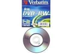 VERBATIN Mini DVD-RW 1,4Gb/30min 1-2x (CANON LPI INCLUIDO)