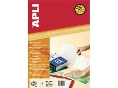 APLI Forro libro transp. adhesivo 241,3x333 (10h)
