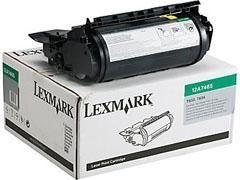 LEXMARK Toner laser 12A7465 negro original