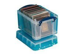 Caja almacenaje Really Useful boxes 3 l color cristral transparente
