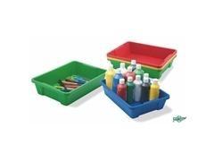 Cajón azul para muebles y almacenaje adaptable al mueble ministerio, capacidad 6l 37,5x26,5x9 cm