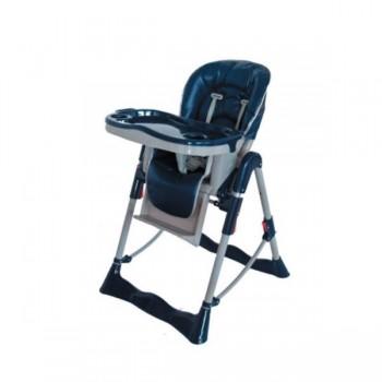 Trona top respaldo reclinable, arnés de seguridad 5 puntos
