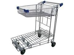 Carro encajable con cesta carga 400kg 92x50X100cm peso 35kg