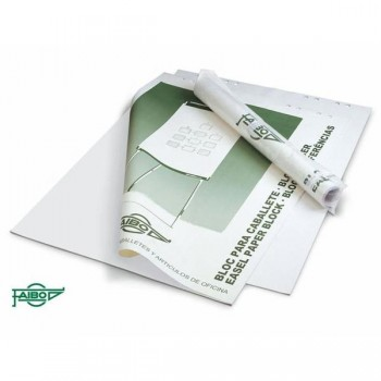 Bloc papel Pizarra 50 hojas lisas Caja individual 65x90cm