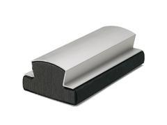 Borrador magnético de aluminio 15x7,5cm