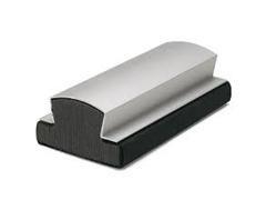 Borrador de fieltro y aluminio 15x7,5cm