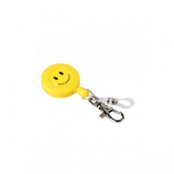 Tarifold Cordón extensible retráctil Smiley con enganche doble accesorio