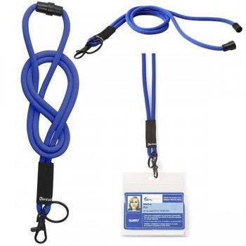 Tarifold Cordón colgante de seguridad Fun largo 46 cm azul