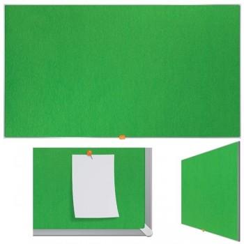 Nobo Tablero Nobo panorámico de fieltro 55\c (1230X700 mm) verde brillante