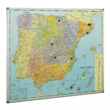 Mapa España magnético 103x128cm