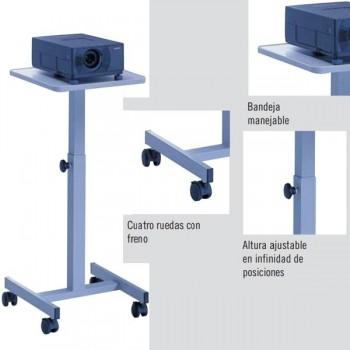 Mesa proyección Medium PT-3 metálica y madera
