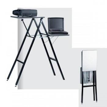 Mesa de proyección Proyecta Giant 1 plegable y portátil metálica