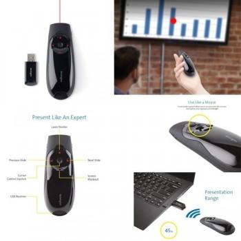 Presentador puntero Expert láser rojo y joystick
