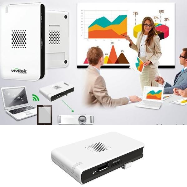Sistema de conector Novoconnect de dispositivo inalámbrico a proyector o monitor