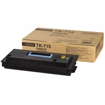 KYOCERA Toner fotocopiadora TK-715 negro 34k KM-3050