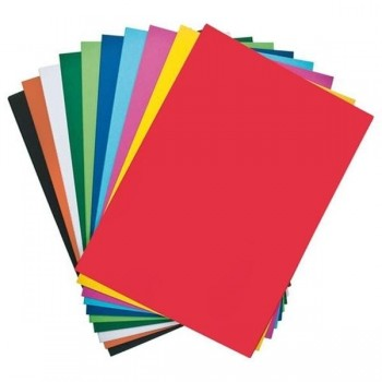 DHP Cartulina colores 50x65 180GR. paq.25 hojas