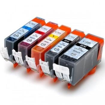 CANON Cartucho inkjet CLI-521** original colores