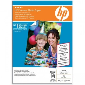 HP Papel fotografico Din A-4 premiun glossy 240g