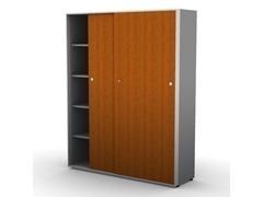 Armario puertas correderas estantes 172x50X214cm melamina
