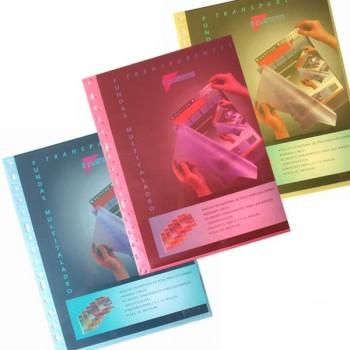 PRYSE funda multitaldro 10 fundas en colores traslucidos