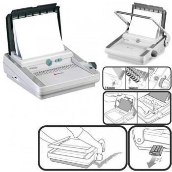 REXEL Encuadernadora canutillos electrica CB366e
