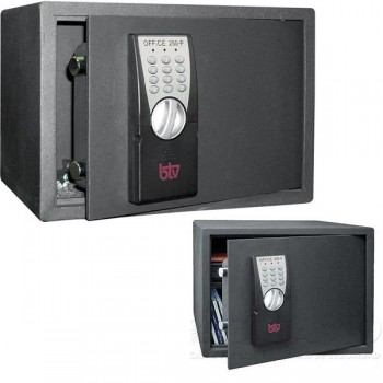 Caja seguridad electrónica BTV 250-p 11,5 kg 25x35x25cm grafito