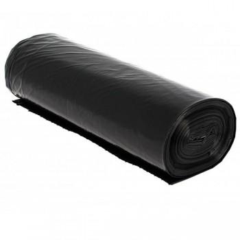 Caja bolsas basura negra de 50 rollos de 25 uds 52x60