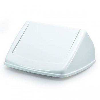 Tapa para contenedor Durabin 40 litros 17x31,5x32,5cm color blanco
