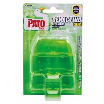 Pato Aparato colgador líquido Pato gel activo Pino