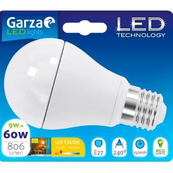 Garza Bombilla led std 9w E27 240º